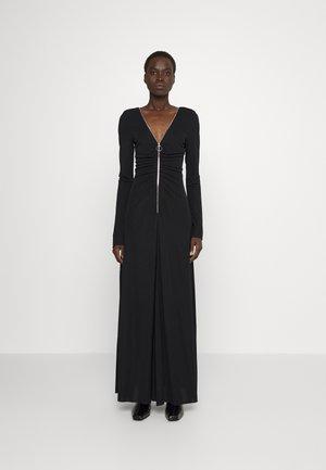 ZIP DETAIL DRESS - Occasion wear - black