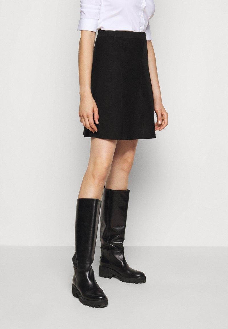 Steffen Schraut - FAVORITE SKIRT SPECIAL - A-line skirt - black