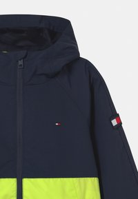 Tommy Hilfiger - COLORBLOCK  - Training jacket - twilight navy/ faded lime - 2