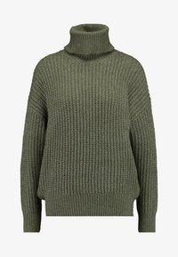 Even&Odd - Sweter - khaki - 4