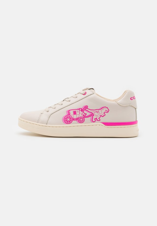 LOWLINE  - Sneakers laag - chalk/pink/multicolor