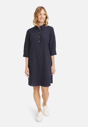 Shirt dress - dark ocean