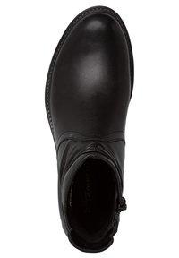 Tamaris - Kotníková obuv - black/black - 2