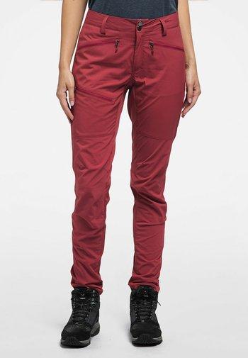 LITE  FLEX PANT - Friluftsbukser - brick red