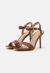 Lauren Ralph Lauren - GWEN - High heeled sandals - deep saddle tan - 2