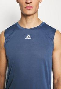 adidas Performance - HEAT.RDY  - Sports shirt - tech indigo - 5