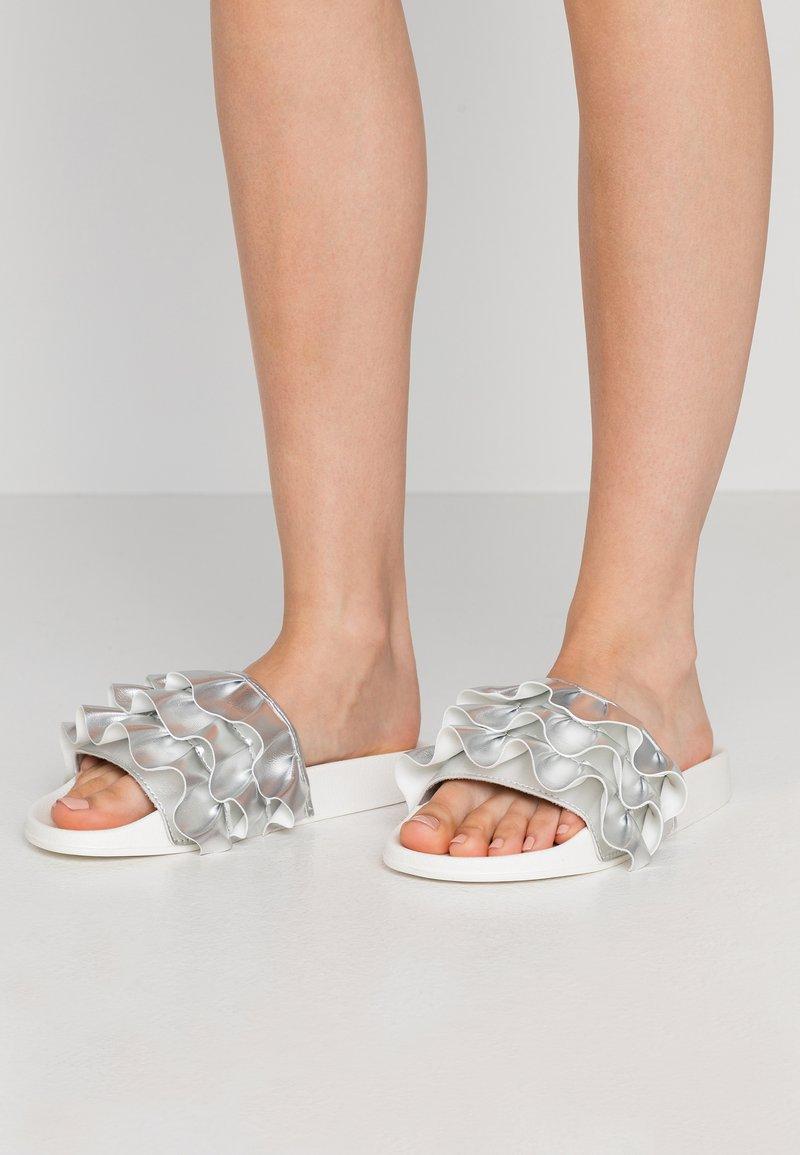 CALANDO - Sandaler - silver