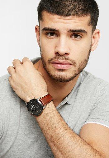 TOWNSMAN - Chronograph watch - braun