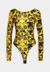 Versace Jeans Couture - LADY BUSTIER - Long sleeved top - black - 6