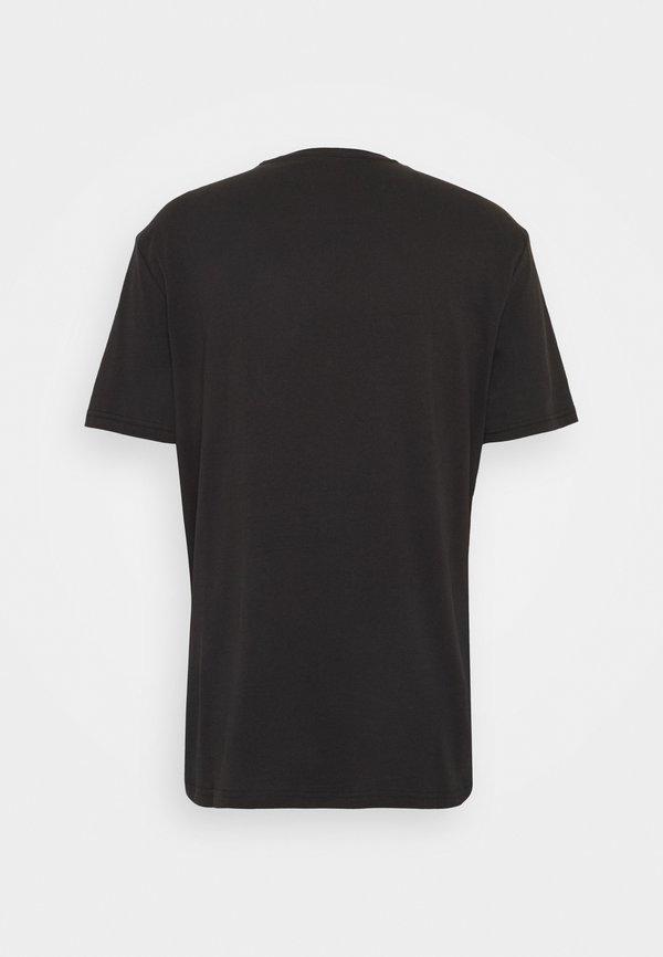 YOURTURN T-shirt z nadrukiem - black Nadruk Odzież Damska PCCQ CW 5