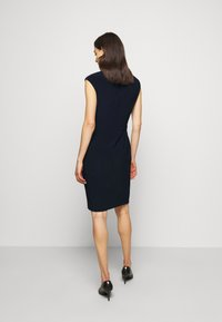 Lauren Ralph Lauren - BONDED DRESS - Pouzdrové šaty - lighthouse navy - 2