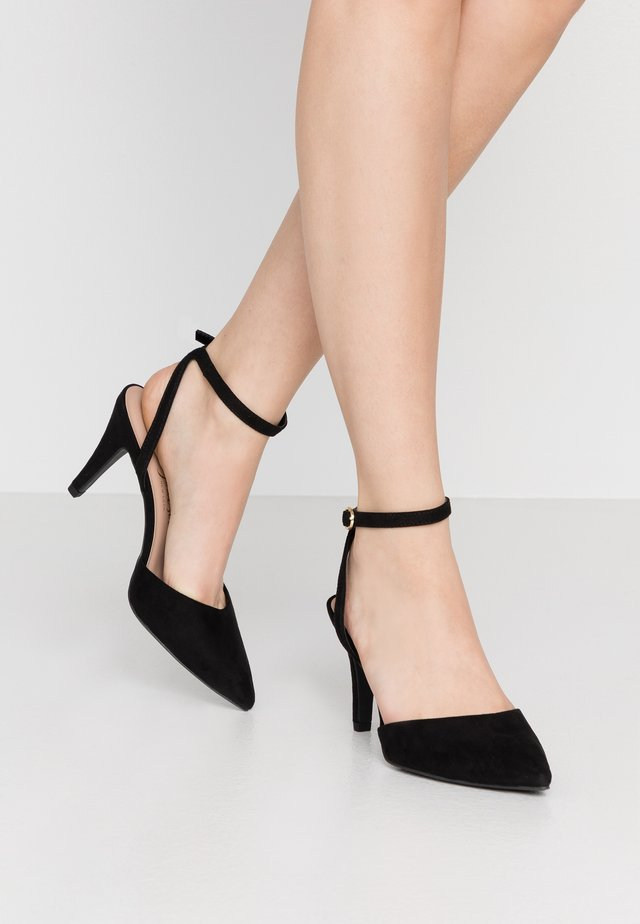 WIDE FIT REMY - High heels - black