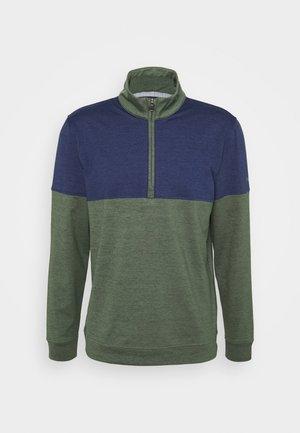 CLOUDSPUN WARM UP ZIP - Sweatshirt - thyme/peacoat