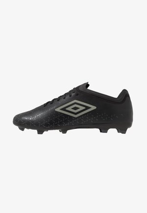 VELOCITA V PREMIER FG - Moulded stud football boots - black/carbon