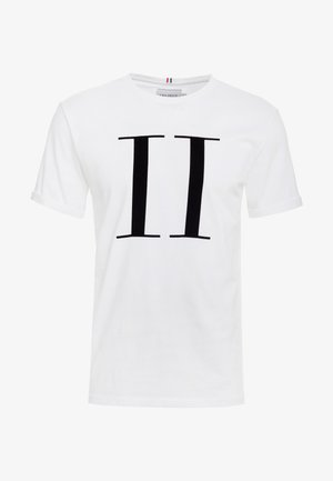 ENCORE  - T-Shirt print - white/black