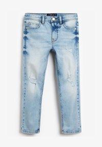 Next - DISTRESSED - Jeans straight leg - bleached denim - 0