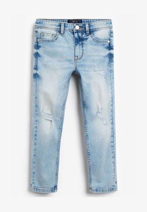 DISTRESSED - Jeans a sigaretta - bleached denim