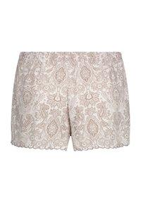 Hunkemöller - SCALLOP PAISLEY - Pantaloni del pigiama - white - 4