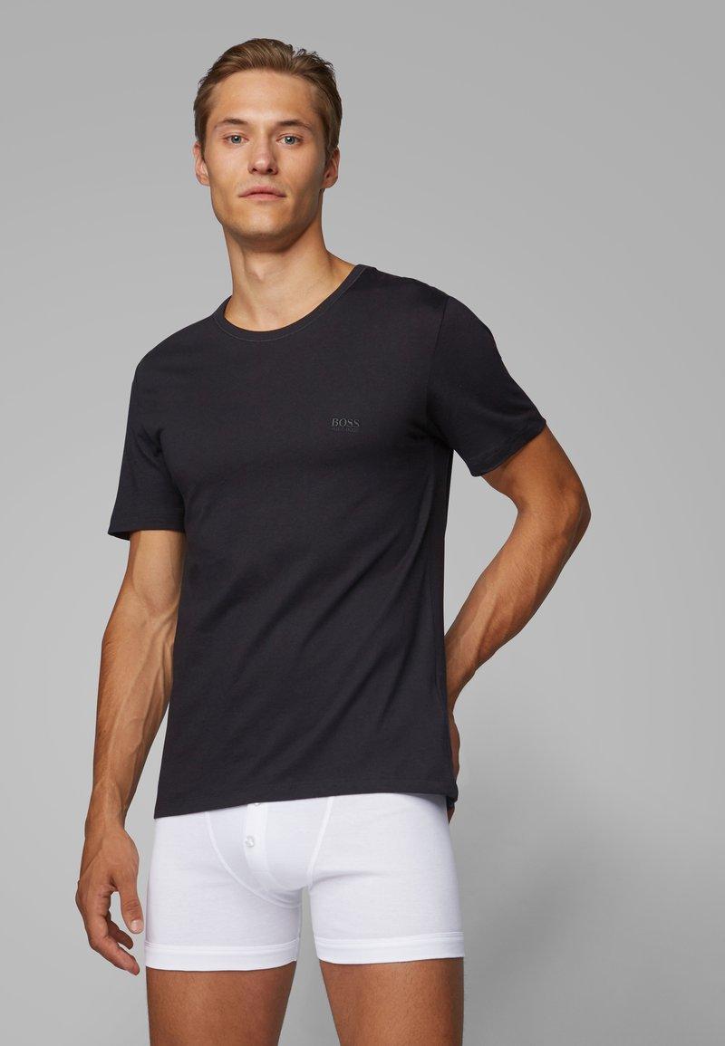 BOSS - 3 PACK - Unterhemd/-shirt - black
