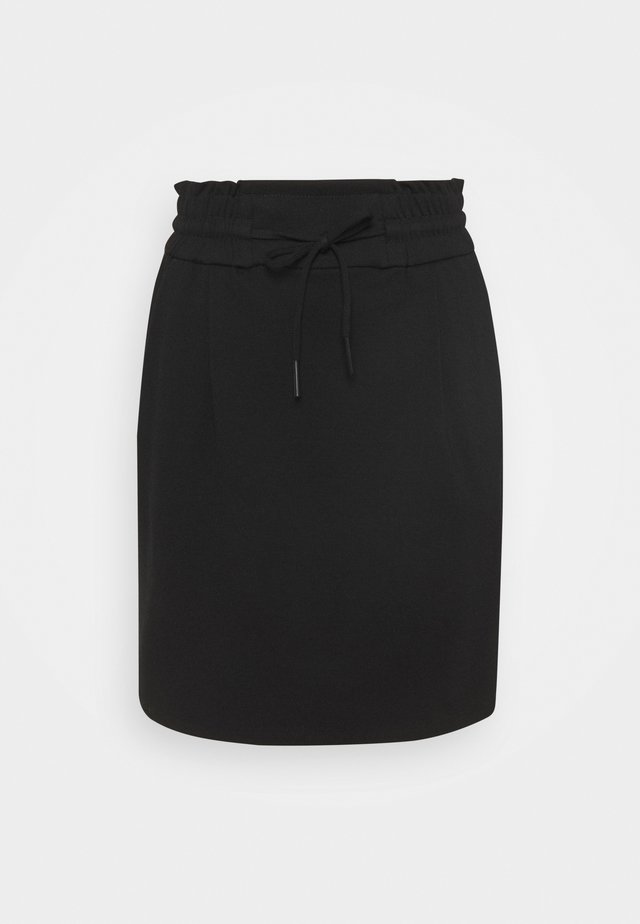 VMEVA SHORT RUFFLE SKIRT  - Mini skirt - black