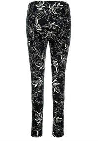 Alba Moda - Trousers - schwarz off White - 3