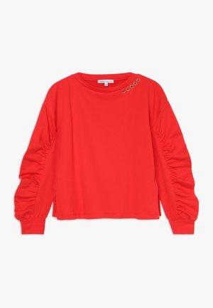 FELPA - Sweatshirt - rosso