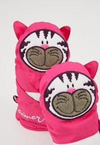 Ziener - LAFAUNA AS® MINIS - Mittens - pop pink - 3