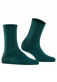 FALKE - POINTELLE - Socks - peacock - 3