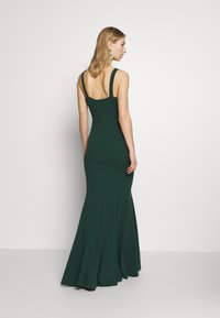 WAL G. - PLEATED MAXI DRESS - Occasion wear - forest green - 2
