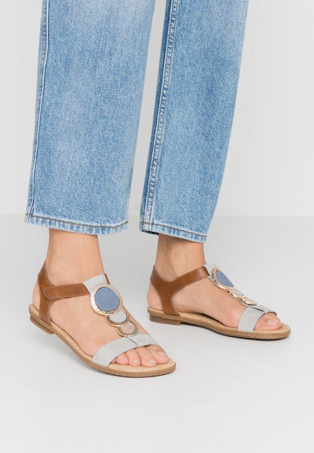 Sandales - cement/amaretto/rose/jeans