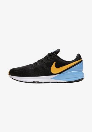 AIR ZOOM STRUCTURE 22 - Stabilty running shoes - black/university blue/white/laser orange