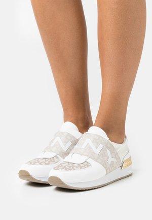 MARLI - Baskets basses - hemp/white