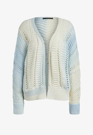 Cardigan - white blue