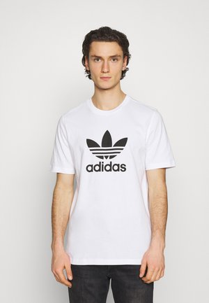 TREFOIL UNISEX - Camiseta estampada - white/black
