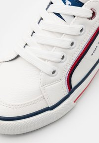 TOM TAILOR - Sneakers laag - white - 5