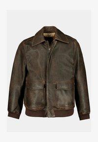 JP1880 - Leather jacket - marron - 1