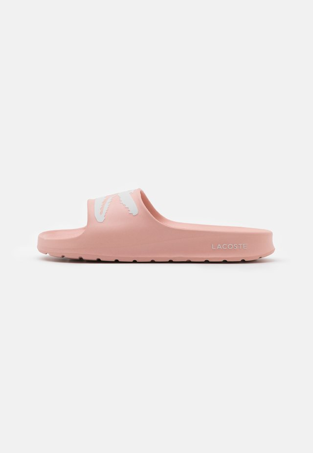 CROCO  - Mules - light pink/white