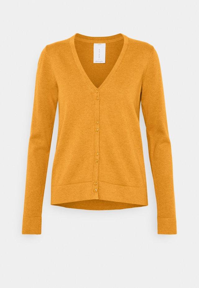LOREN CARDIGAN - Vest - amber