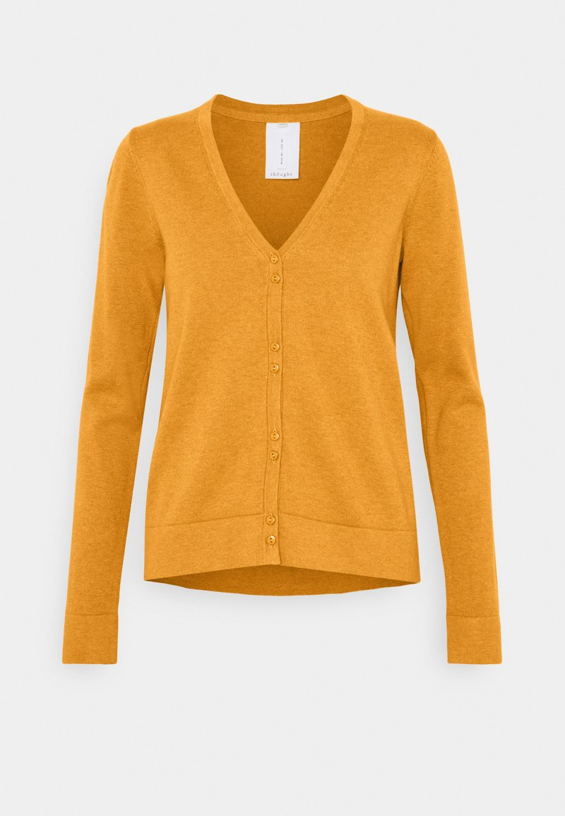 Thought - LOREN CARDIGAN - Gilet - amber