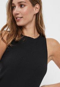 Vero Moda - VMLAVENDER DRESS - Maxi šaty - black - 3