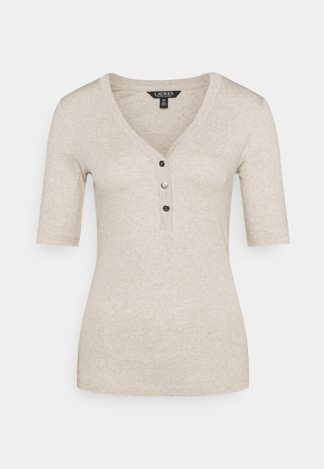 NEED - T-shirt basic - farro heather