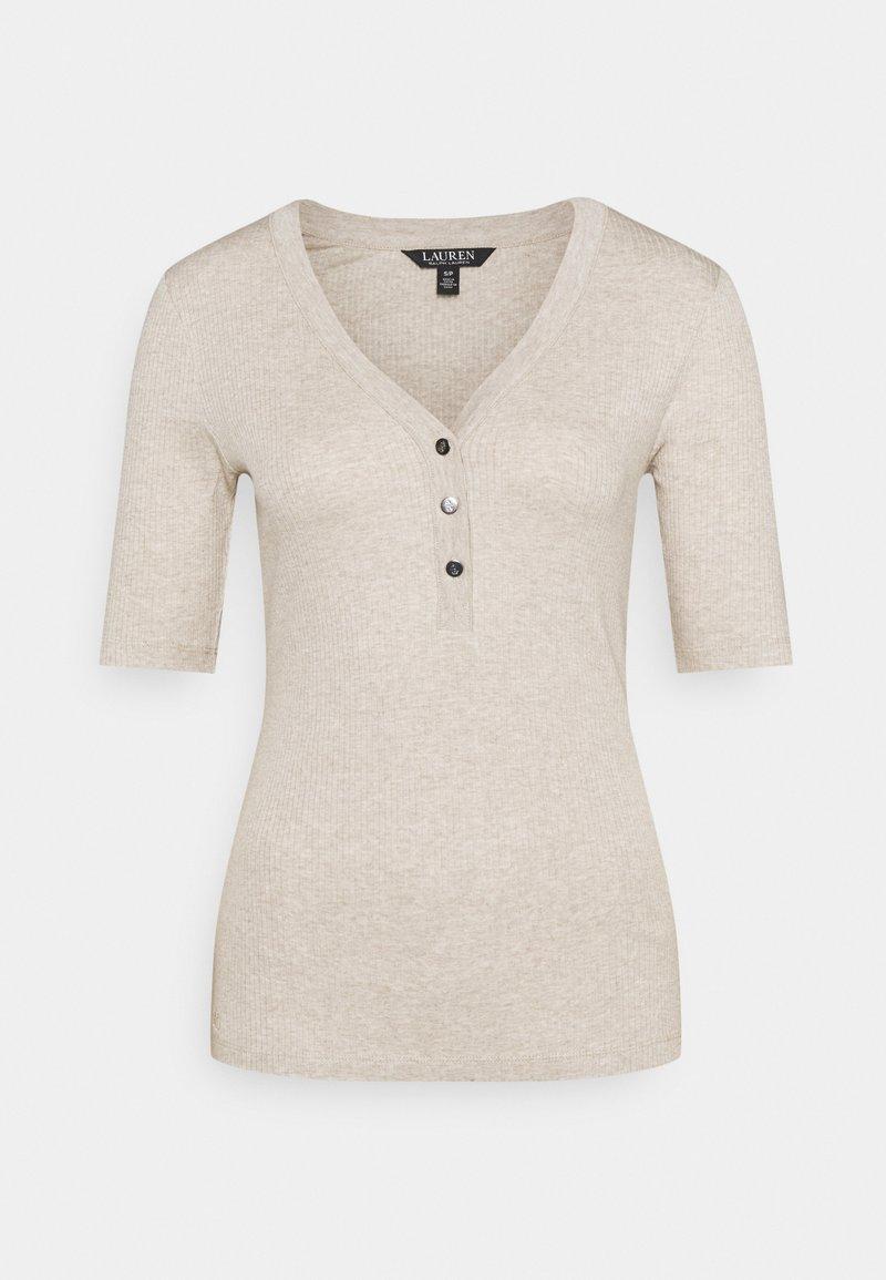 Lauren Ralph Lauren - NEED - Jednoduché triko - farro heather
