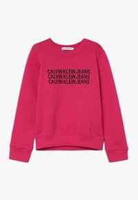 Calvin Klein Jeans - TRIPLE LOGO - Sweater - purple - 0