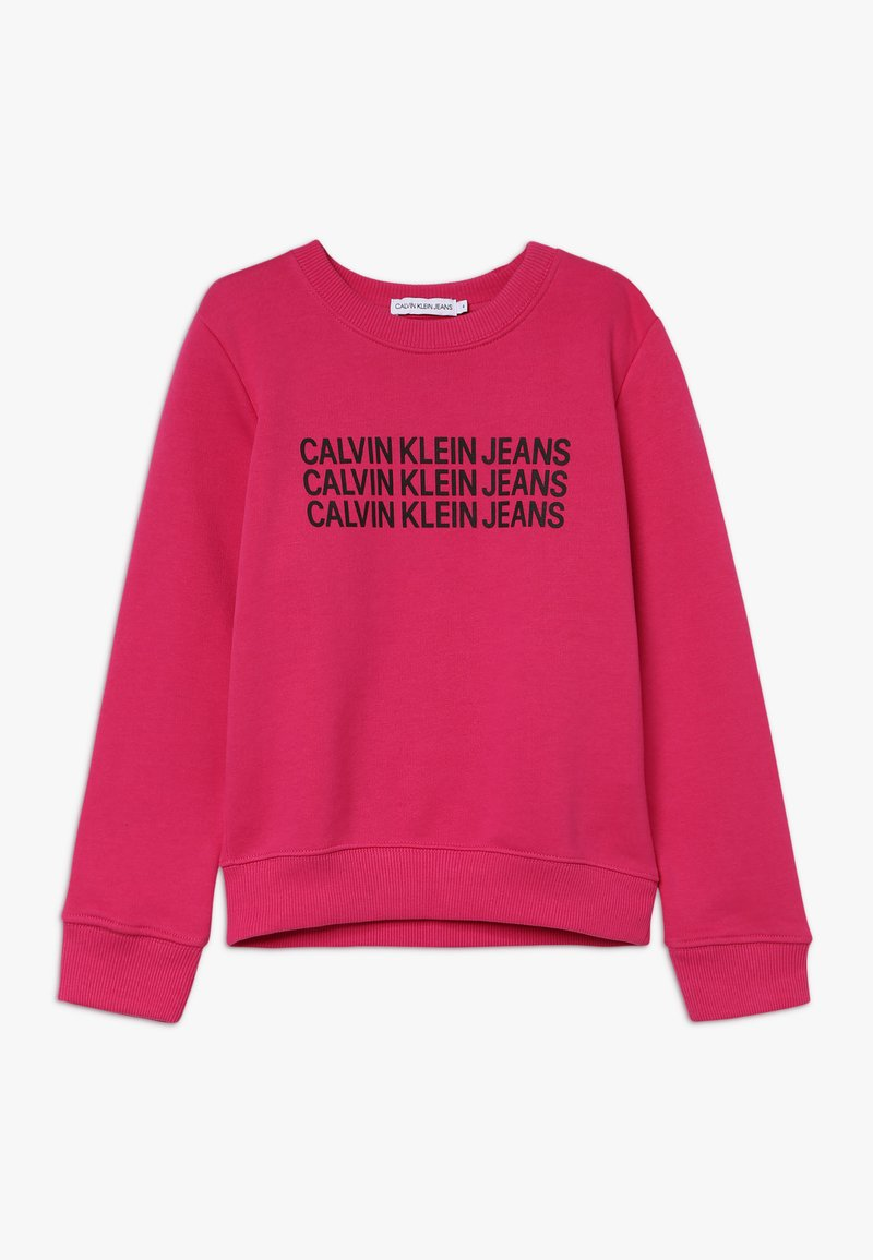 Calvin Klein Jeans - TRIPLE LOGO - Sweater - purple
