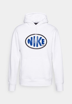 CAPSULE HOODIE UNISEX - Sweater - white/signal blue