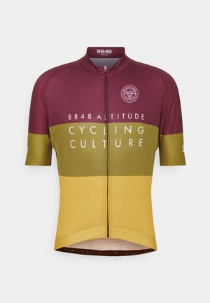 SKYLINE BIKE - T-shirt print - burgundy
