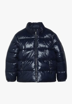RECYCLED REVERSIBLE PUFFER - Winter jacket - blue