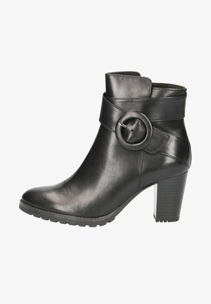 STIEFELETTE - Ankle boots - black nappa