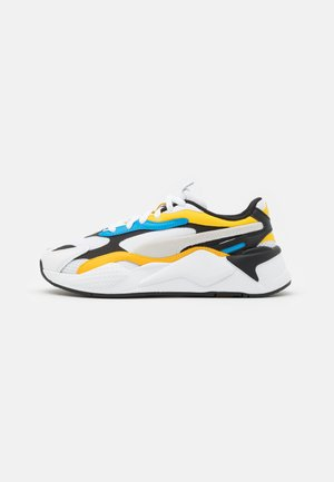 RS-X³ PRISM UNISEX - Sneakers - white/spectra yellow