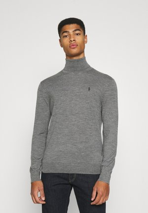 LONG SLEEVE SWEATER - Pullover - fawn grey heather